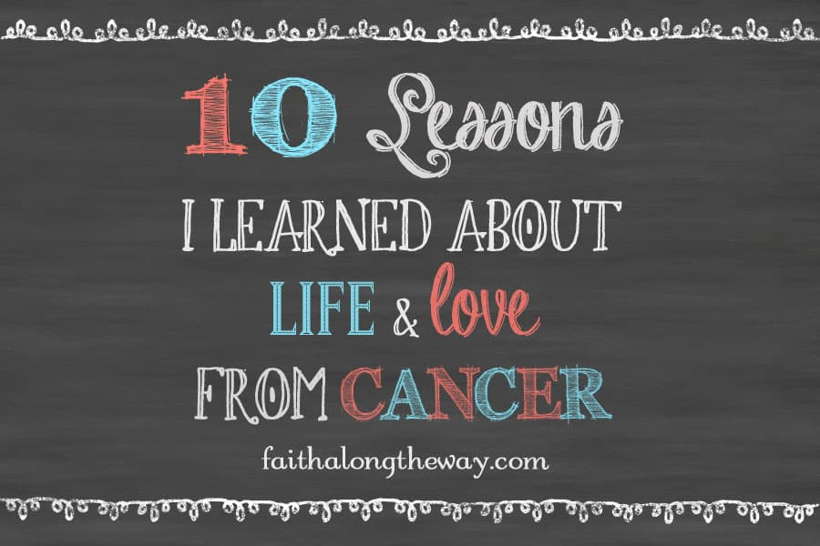 10 lessons cancer pic