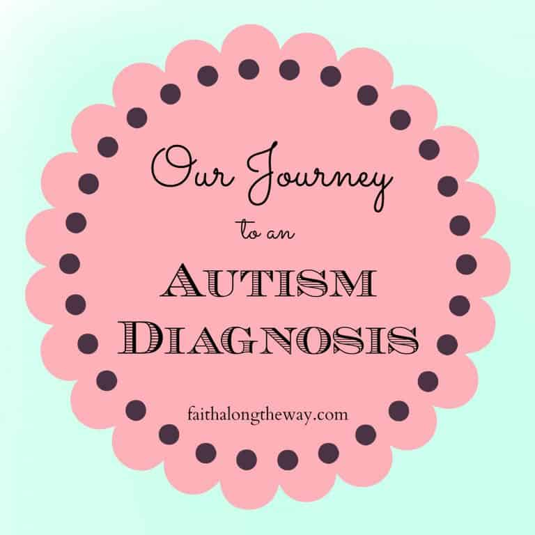 Our Journey to an Autism Diagnosis