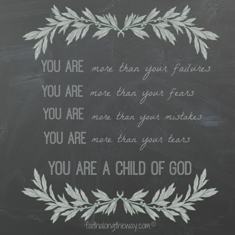 Free Chalkboard Printable- Weekend Words of Wisdom #10