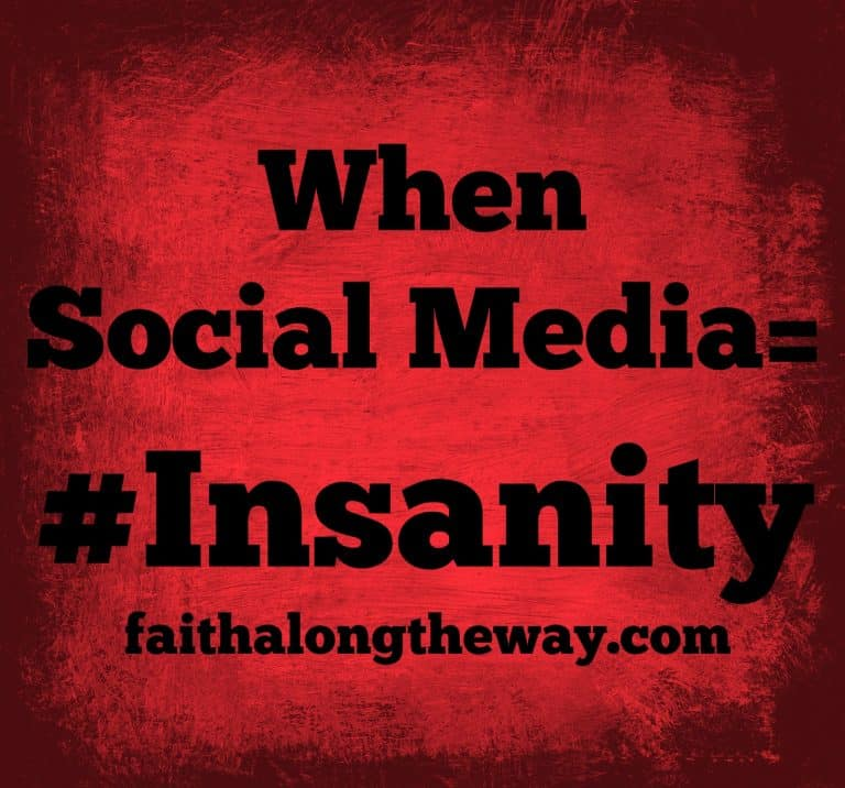 When Social Media = #Insanity