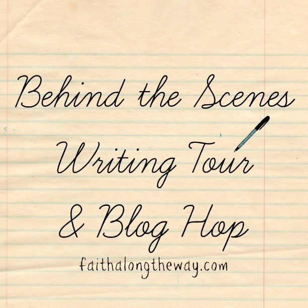 Behind the Scenes Writing Tour & Blog Hop!!!!