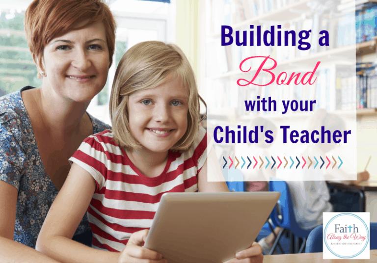 Building a Bond with Your Child's Teacher