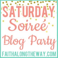 Saturday Soiree Blog Party #5 + Printable