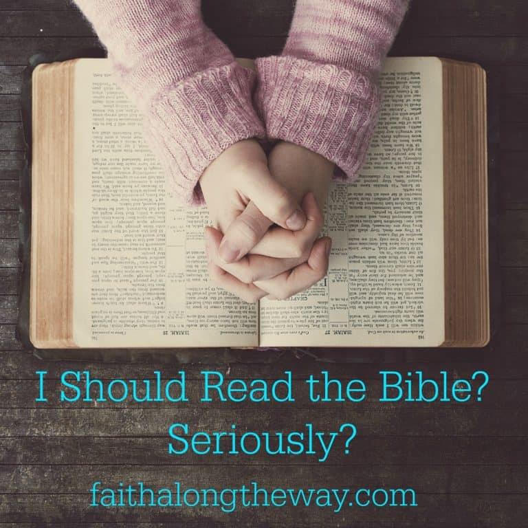 I Should Read the Bible?  Seriously?