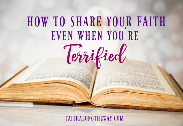 You don't have to be afraid to share your faith! Christian women can be confident in their abilities to share the Gospel with those around them! I share your faith I share the gospel I share the gospel ideas I Christian women I missionary ideas II Faith Along the Way #missionary #faith #friendship