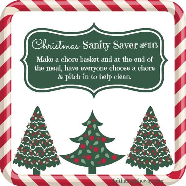 Christmas Sanity Saver 16 Faith Along the Way