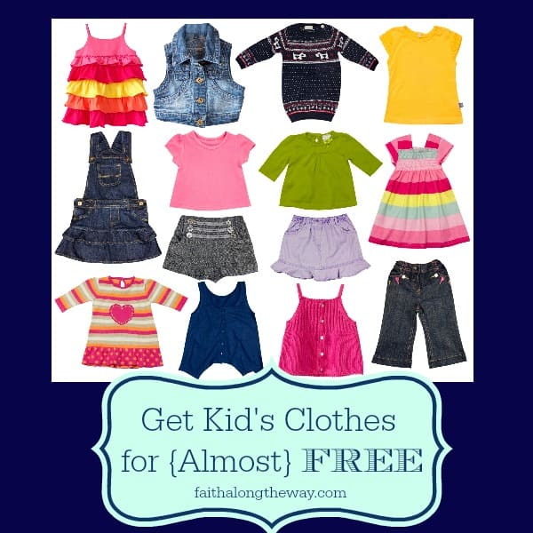 Get Kid's Clothes for {Almost} FREE