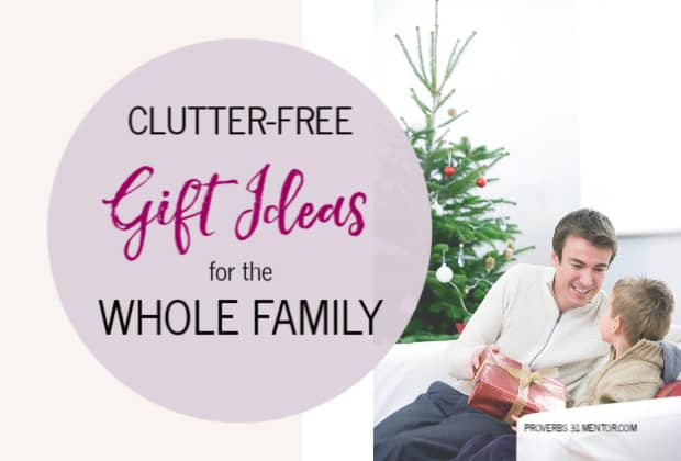 Clutter-Free Gift Ideas for the Whole Family
