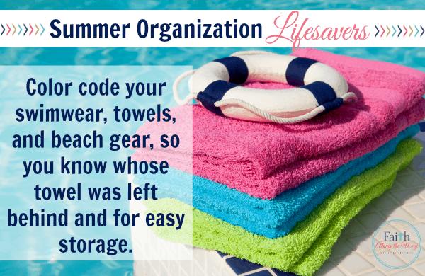Summer Organization Tips Faith Along the Way