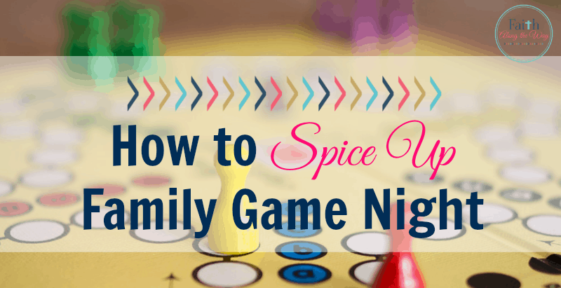 How to Spice Up Family Game Night