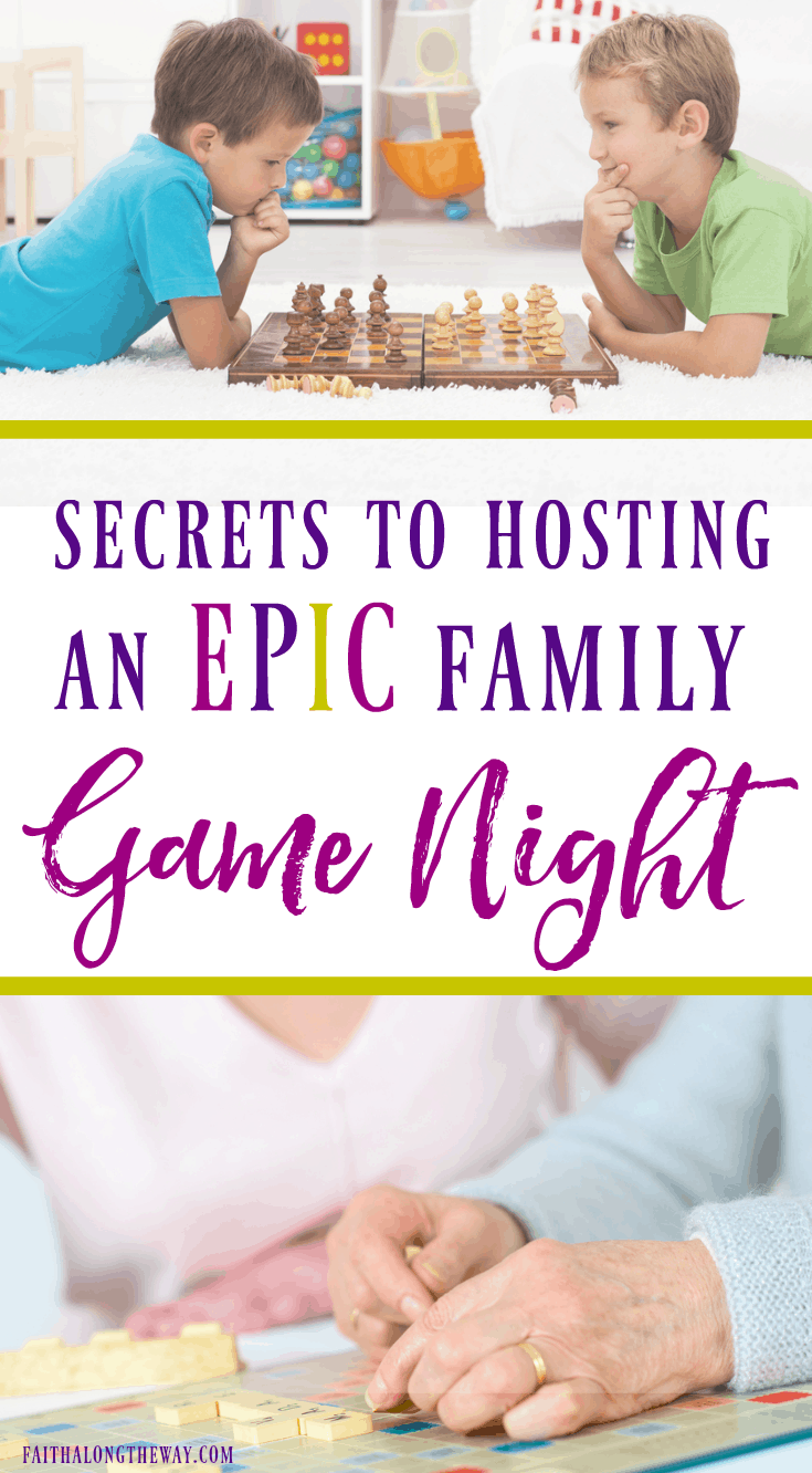 It's time to create a memorable night of family fun!  These simple tips will help you have a family game night that will make memories with the kids you'll be talking about for years to come.