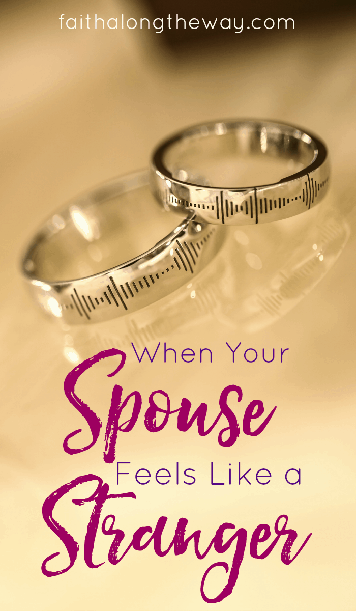 If you feel disconnected from your spouse, here's how to navigate those rocky waters. Healing and reconciliation IS possible!