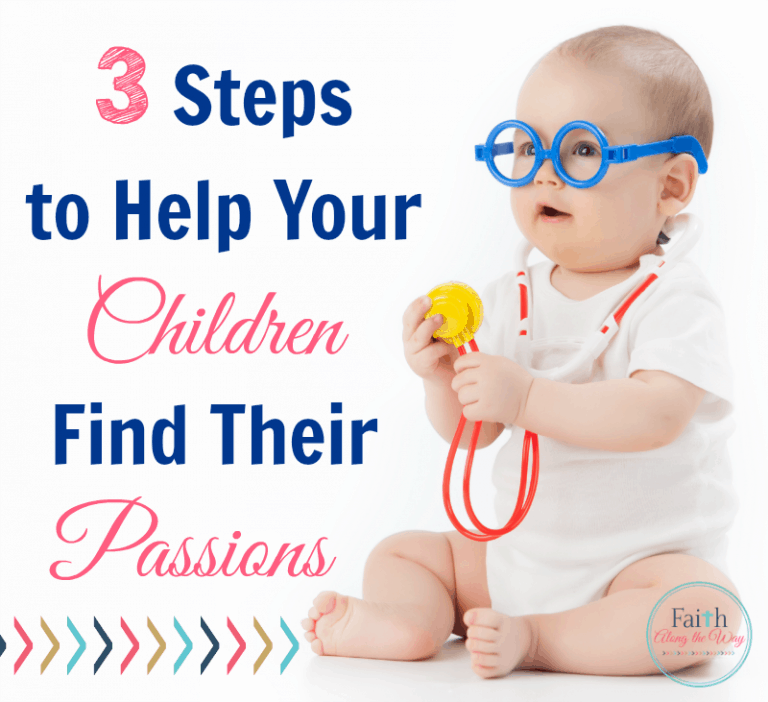 3 Steps to Help Your Children Find Their Passions