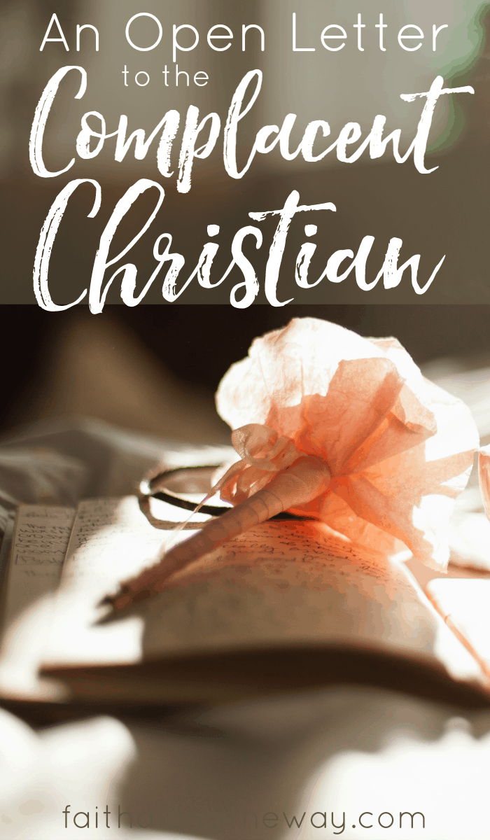 An Open Letter to the Complacent Christian- If you've struggled to mature in faith, you're missing out on what God has planned for you. Here's why you need to get off the sidelines and start pursuing a relationship with God.