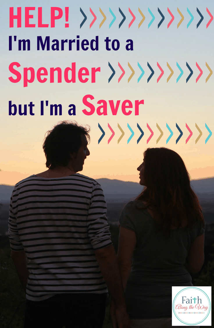 Help! I'm Married to a Spender but I'm a Saver
