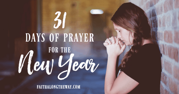 Start the New Year with a heart bowed before the Lord. Grab this free printable to help!