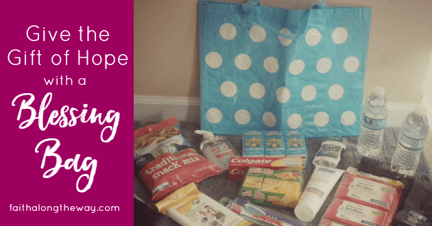 Spread Christmas cheer with a blessing bag & DIY Kindness Kit.