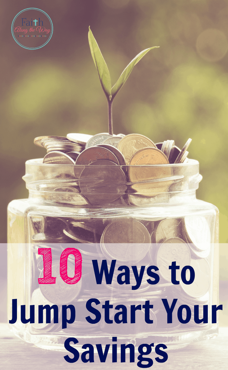 10 Ways to Jump Start Your Savings