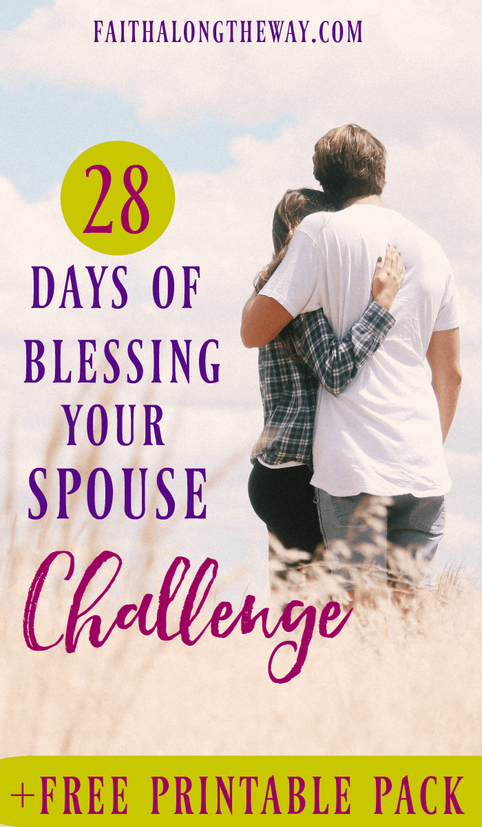 Vow to spend the next 28 days focusing on your marriage. This FREE printable pack will help you make your mate a priority & reconnect in your relationship.