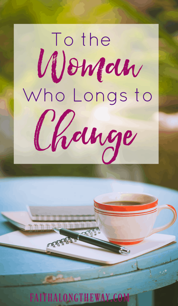 When you long to change and achieve goals, but wonder if it's even possible, you can be defeated before you even start. Here's how to set goals and achieve lasting change.