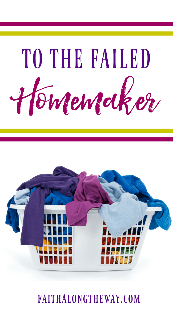 When you've feel as though you've failed as a homemaker and just can't keep a solid cleaning routine, this is just the encouragement you need. As a Christian homemaker, there is freedom in knowing you were never designed to live a life of perfection.