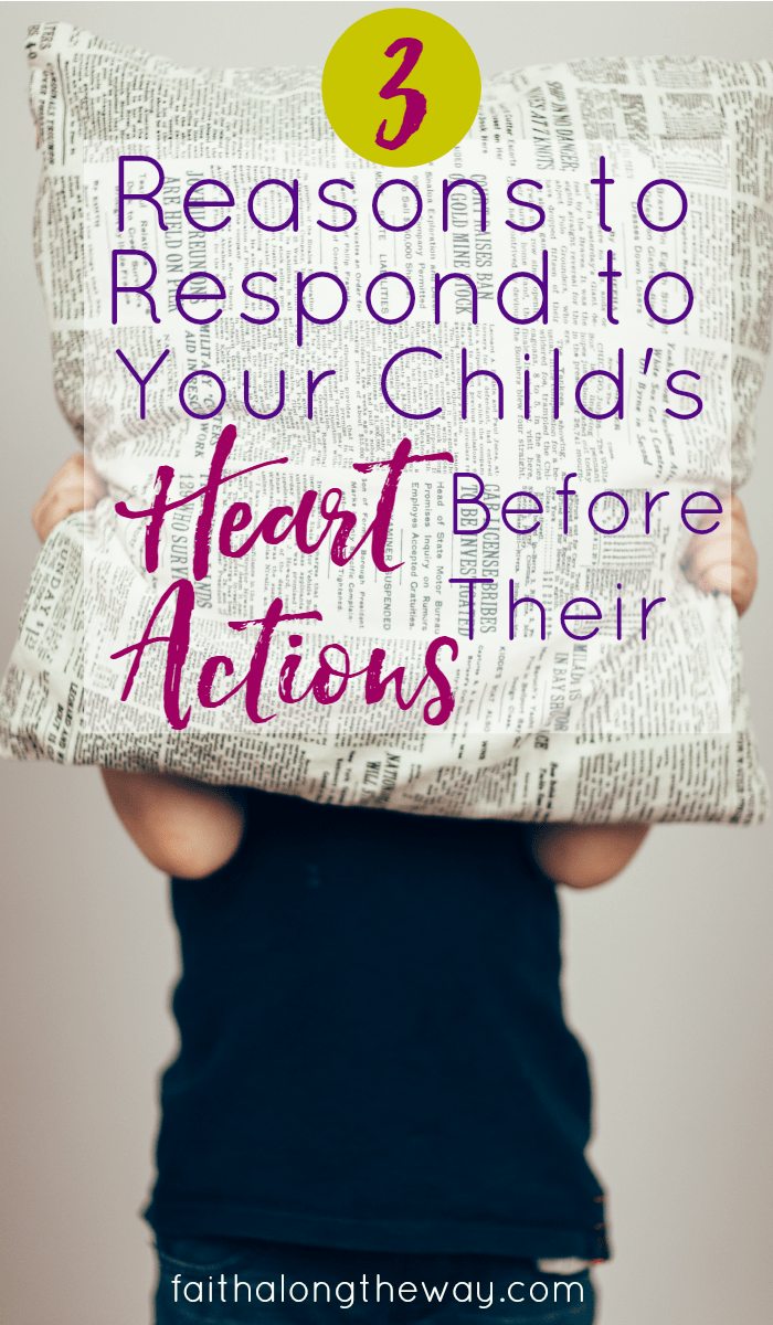 In the heat of the moment, it's so tempting to discipline and react to child behavior. These words of wisdom will help you adjust your reaction and choose your words carefully.