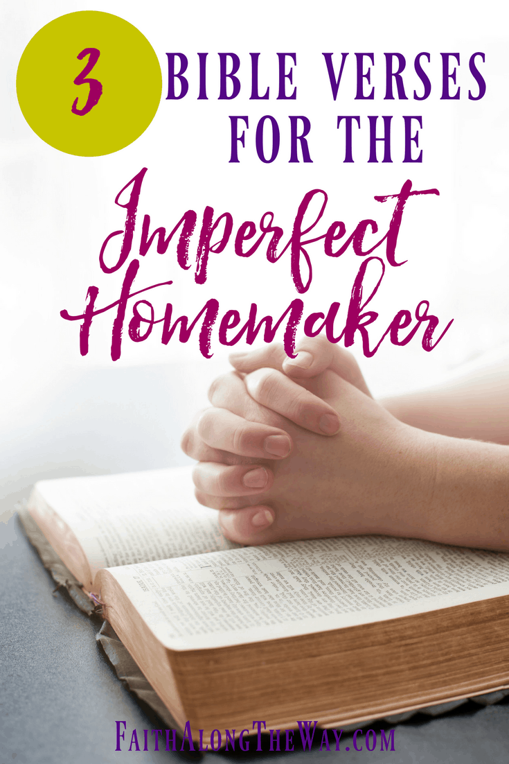 Whether you're an imperfect homemaker or one who has a place for everything, God's word reminds us where our focus should rest.