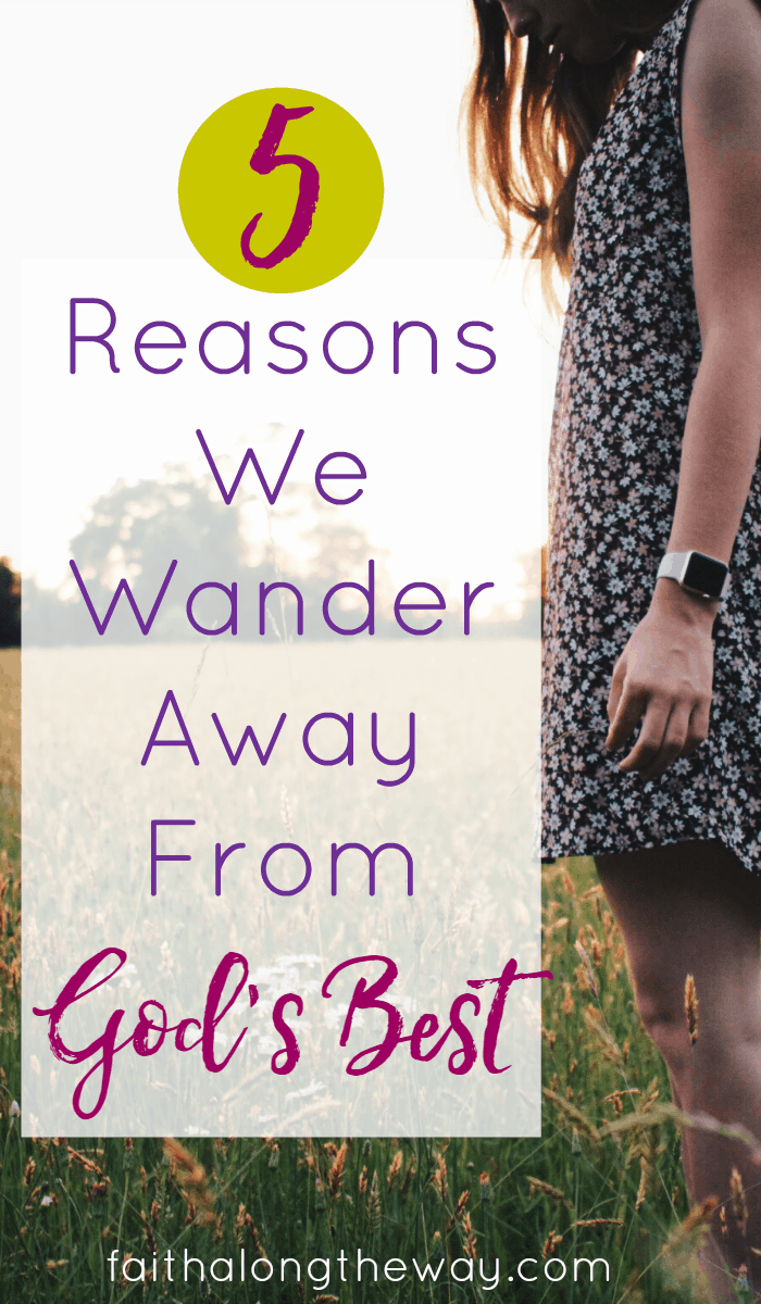 Do you find yourself wandering away from God's plans and promises?  Here's why our hearts are prone to wander and how we can recognize the tendency to wander in ourselves.
