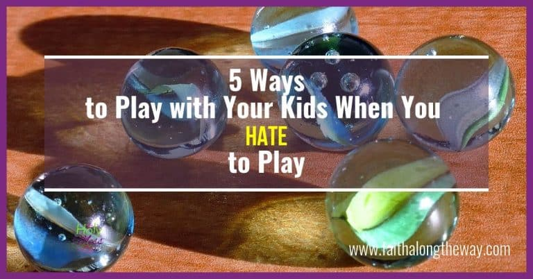 5 Ways to Play with Your Kids When You Hate to Play