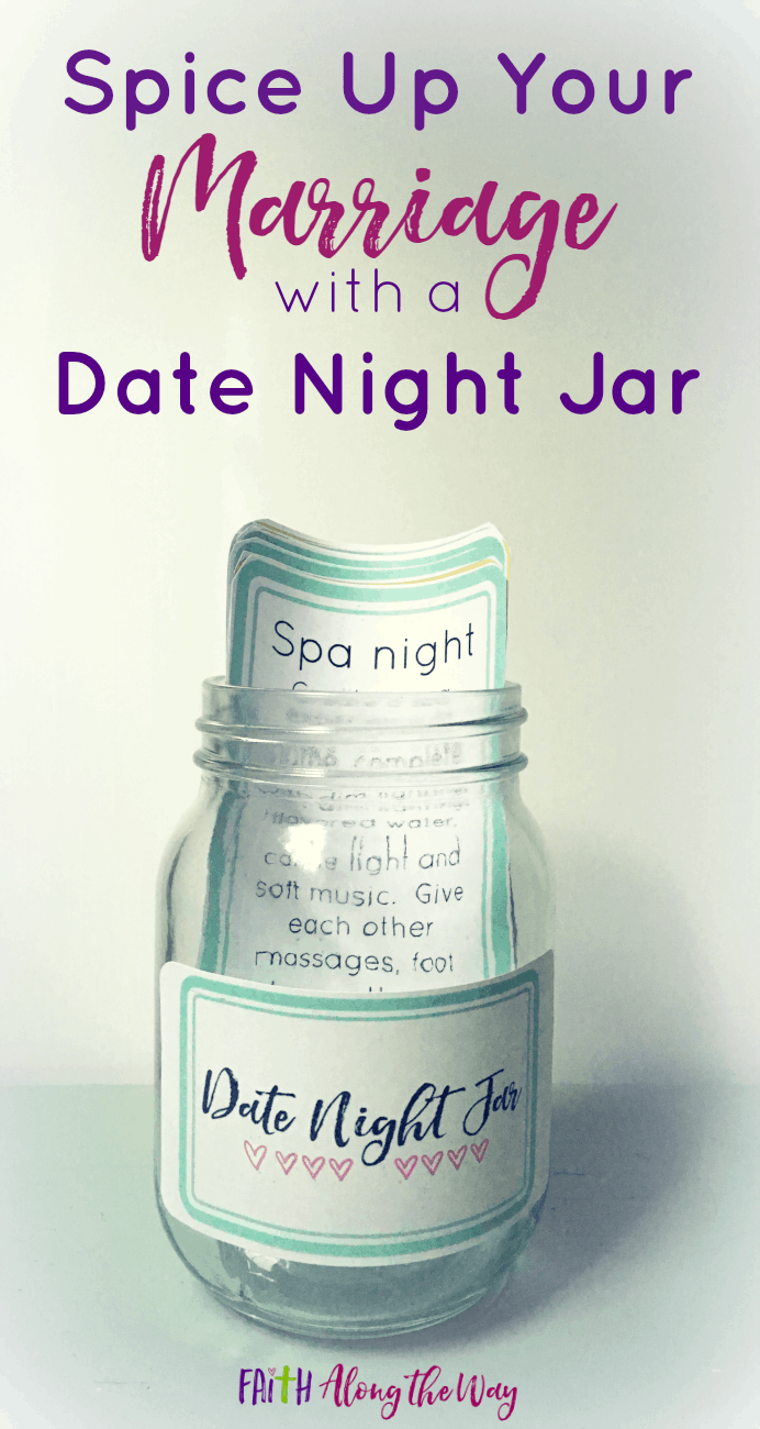 Spice Up Your Marriage with a Date Night Jar