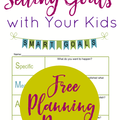 Give your children the gift of setting and achieving goals with two free printables. Watch your children bloom and grow as they learn to set goals and achieve them, too!