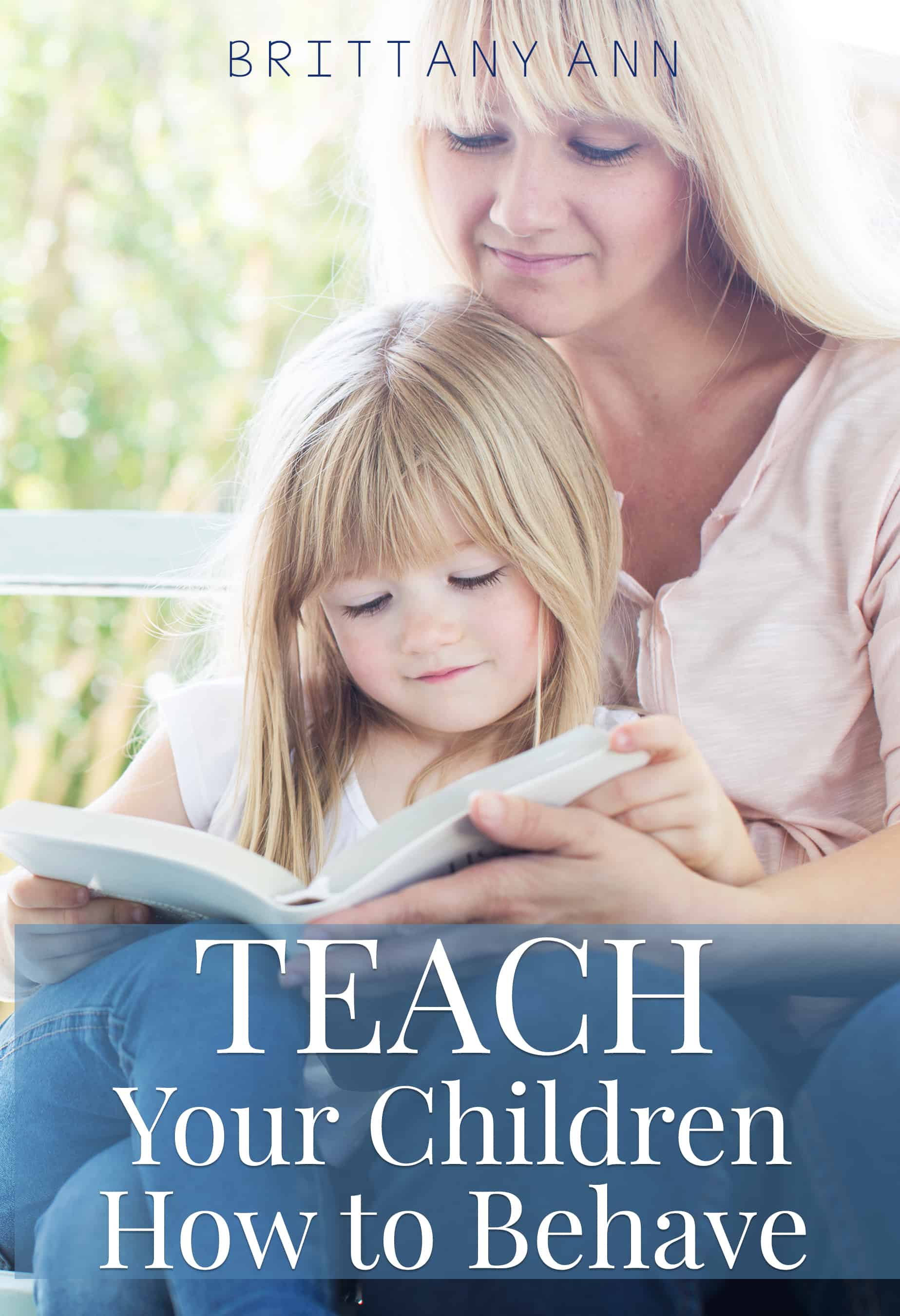You CAN teach your children how to behave and this practical book can help! Learn how to navigate the rocky roads of parenting with proactive strategies to implement today!