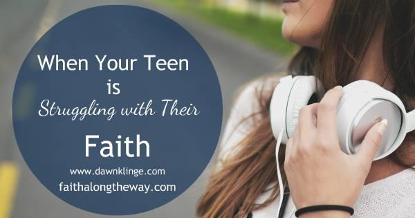 Teen struggles with faith