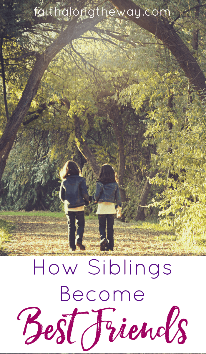 If you've ever wanted your children to be best friends, don't miss this wisdom form a mom of 6.