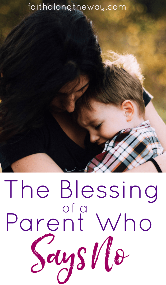 While it's popular for parents to give in to their children for sake of damaging their ego, there IS a blessing when parents have the courage to tell their children no. Don't miss this reminder how important it is to place boundaries around our children as parents.