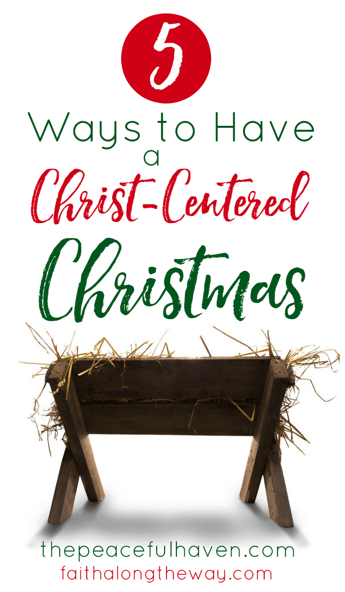 Focus your family Christmas traditions around Jesus and embrace a faith-filled