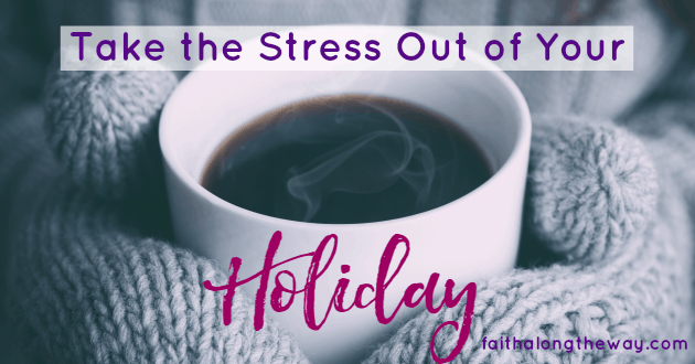 Take the Stress Out of Your Holiday and RELAX this Christmas!