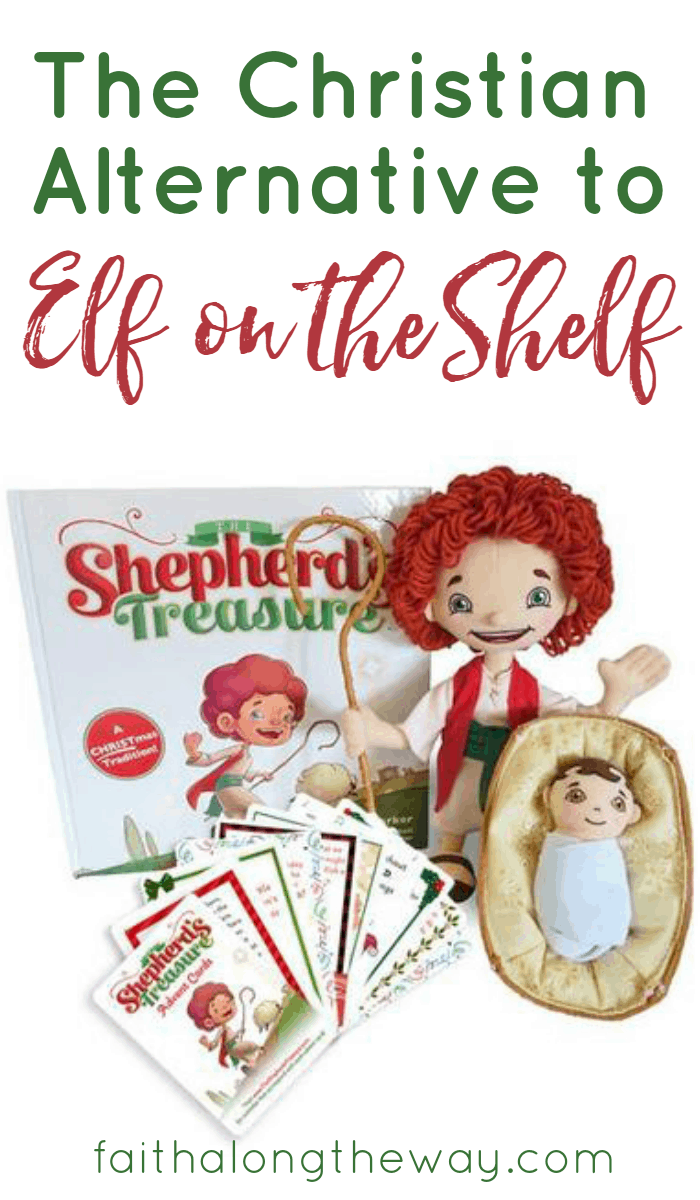 The Shepherd's Treasure is a new, faith-filled alternative for the Elf on the Shelf. Lay a spiritual foundation of faith and kindness for your kids with this new family tradition!
