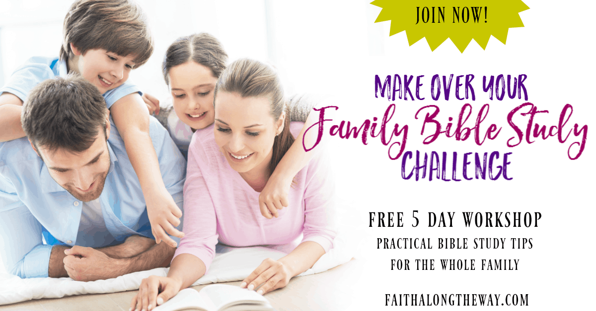Learn to easy and simple changes to your personal and family Bible study to help you all grow in faith!