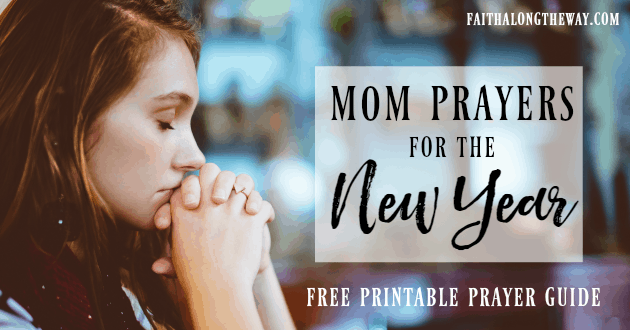 Mom Prayers for the New Year