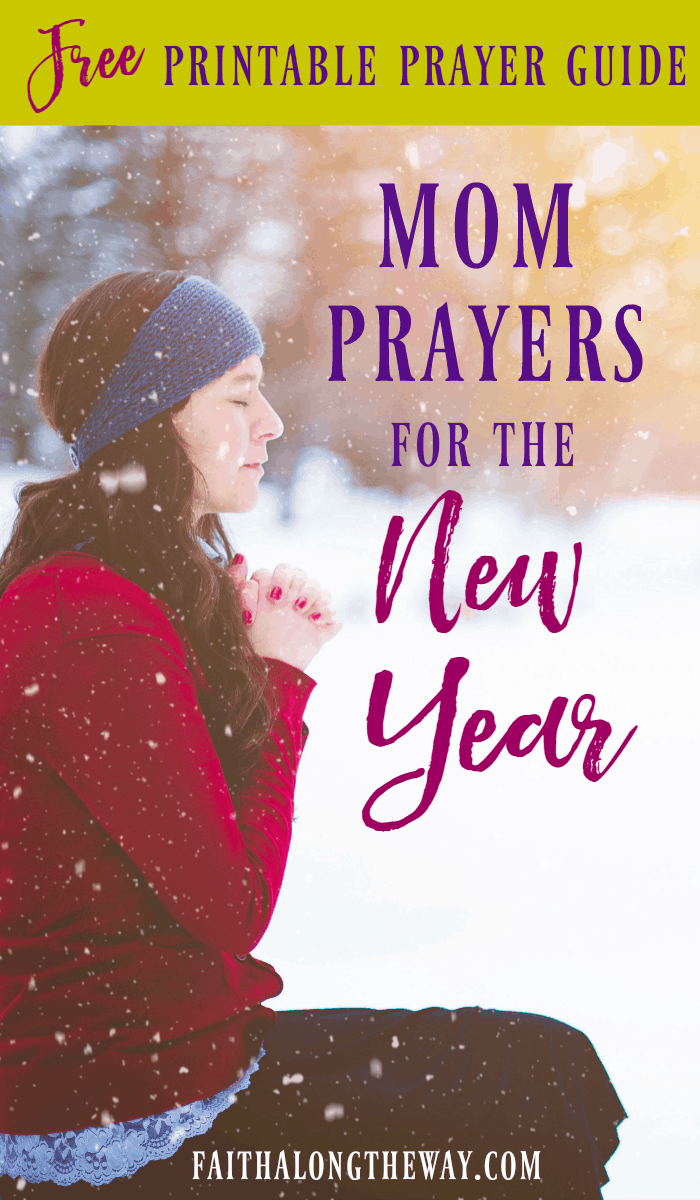 Grab the FREE printable to center your heart and guide your mom prayers. It will help you cover every family member in prayer for the New Year.