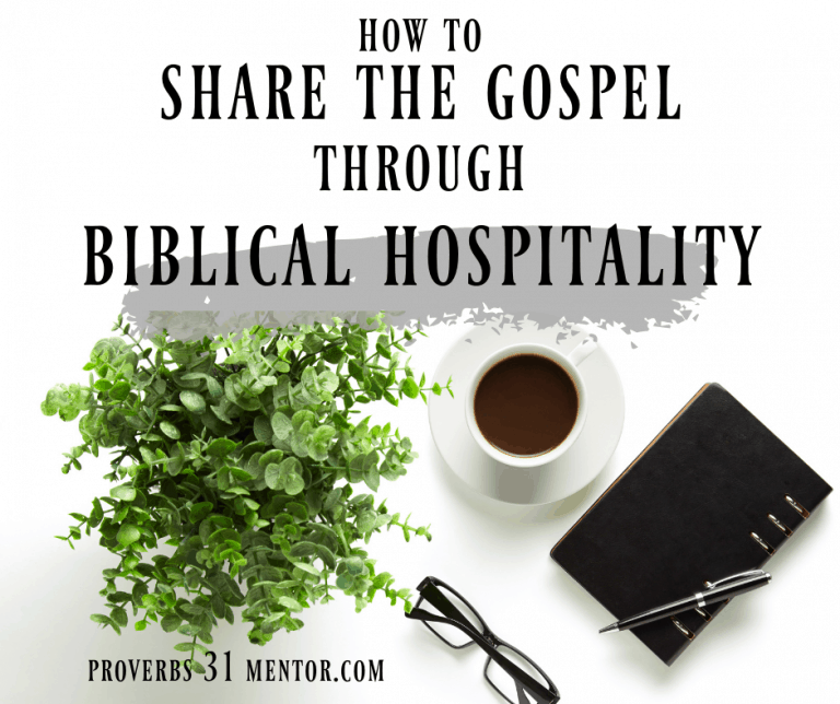 How to Share the Gospel Through Biblical Hospitality