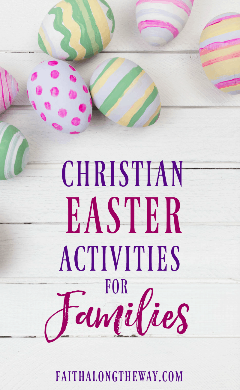 Teach kids about the true message of Easter with Christian Easter activities for the family. These simple and practical activities are filled with biblical truth and are little prep, too!