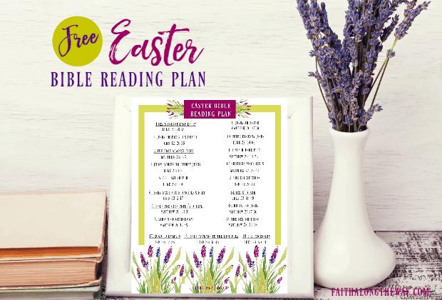 Easter Bible Reading Plan & Printable