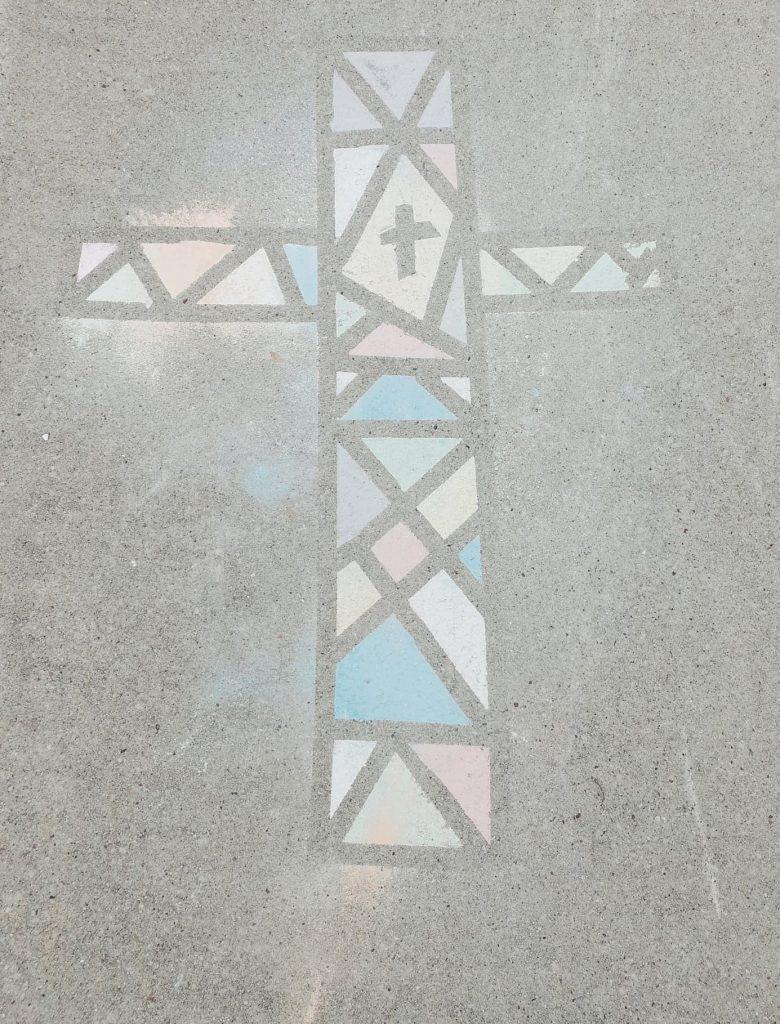 Christ-centered chalk art- Proverbs 31 Mentor