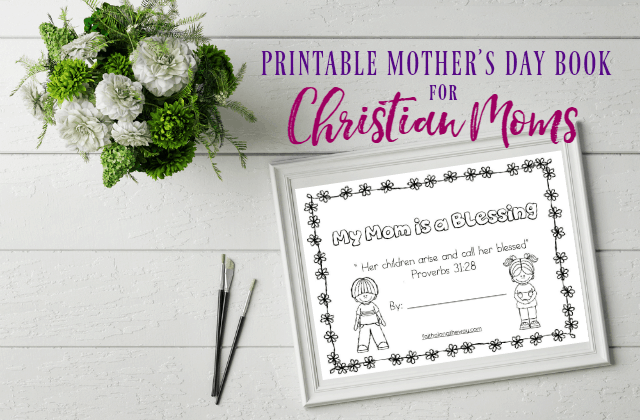 Printable Mother's Day Book for Christian Moms