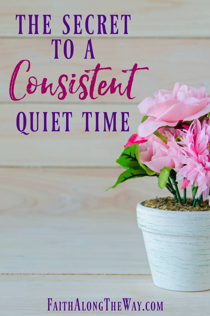 A consistent and meaningful quiet time is possible! Connect with God and grow your faith with these practical secrets for regular Bible study.