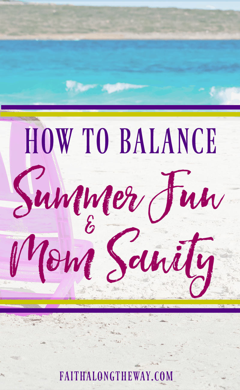 Have a memorable summer with the kids by finding balance. These tips will help you thrive as a family and guard your mom heart, too. This will help you all have the best summer yet!