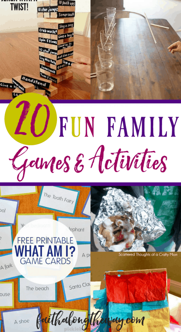 Make family time fun and engaging! These simple family activities will help you build strong memories and stay connected at the heart!