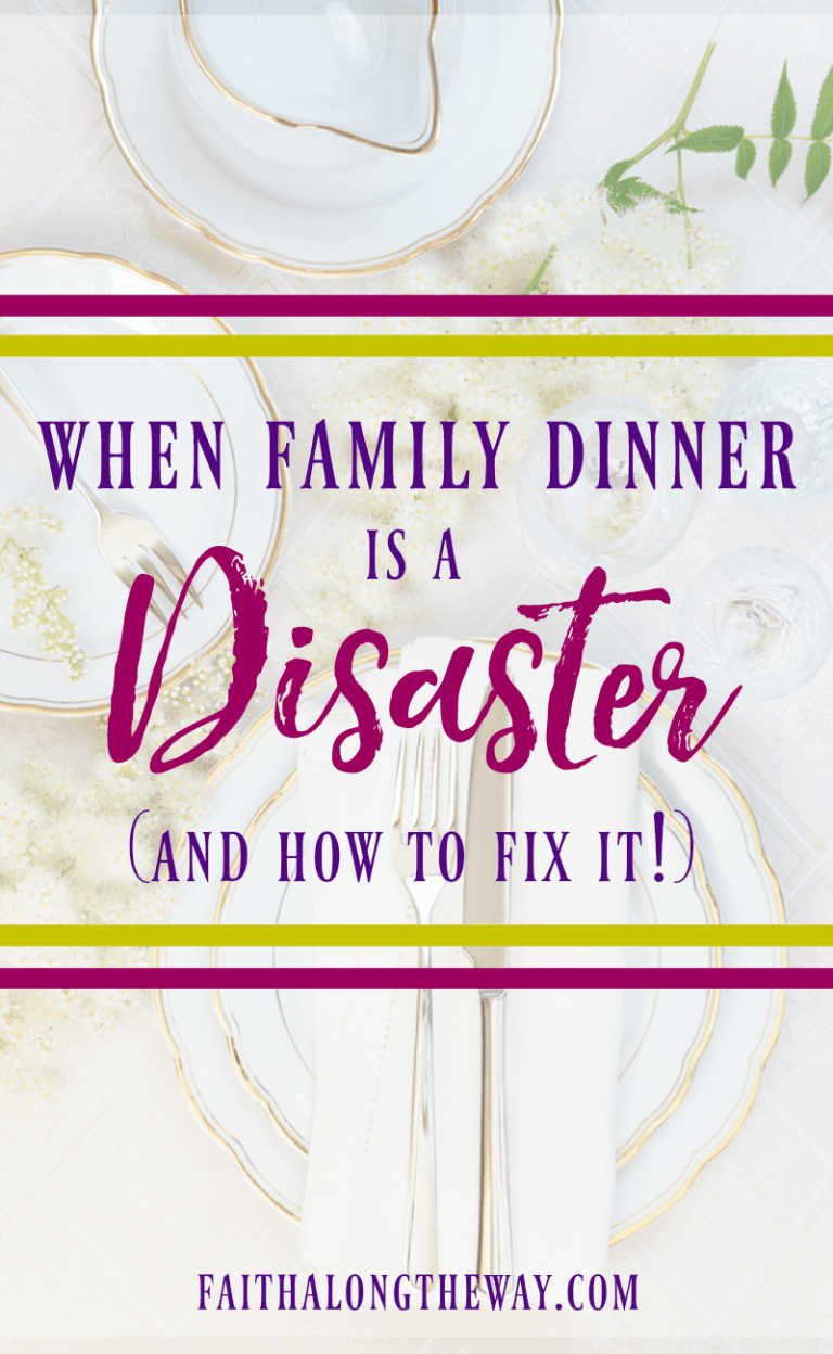 When Family Dinner is a Mess (and How to Fix it!)